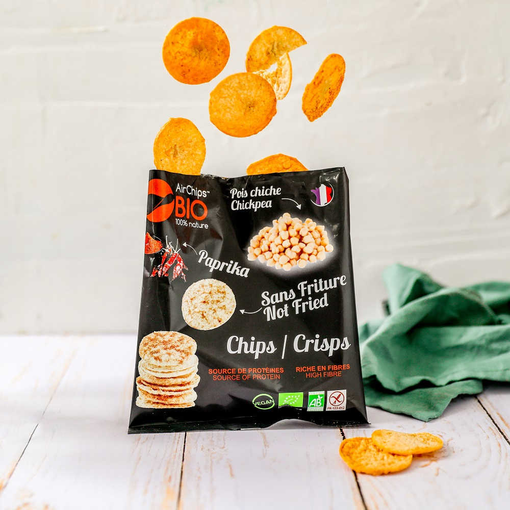 Airchips pois chiche Paprika