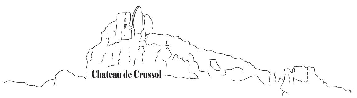 Château de Crussol Airchips